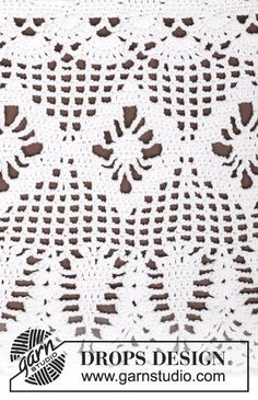"""Aphrodite"" top by Drops Design - Free crochet pattern & diagram Crochet Shorts Pattern, Crochet Bookmark Pattern, Crochet Bookmarks, Crochet Patterns, Crochet Stitches, Débardeurs Au Crochet, All Free Crochet, Cotton Crochet, Crochet Home"