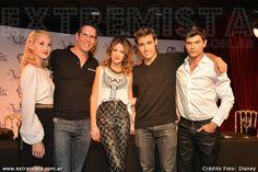 Mechi,Diego R,Tini,Jorge y Diego.