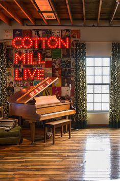 """Dubbed Nashville's Cotton Mill Live, the 2,000-square-foot loft is not only the place these creatives call home, but a space that encourages """"sharing, testing, and living in creativity."""