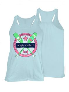 Simply Southern Paddle Tank - Blue from Chocolate Shoe Boutique