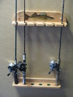 26 Unbelievable Fishing Rods Catfish And Tackle Diy Fishing Rod Holder, Fishing Rod Stand, Fishing Pole Storage, Rod Holders, Skateboard Furniture, Rod Rack, Fishing Tips, Fishing Stuff, Diy Wood Projects