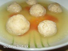 Fotorecept: Drožďové knedlíčky do polievky