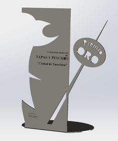 Entomelloso Wp Content Uploads 2013 04 Premio Tapas Tomelloso Acrylic TrophyTrophy DesignAcrylic