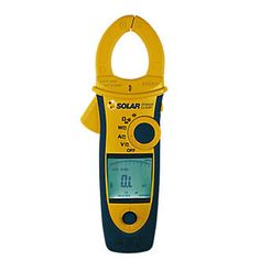 Seaward Solar Seaward 396A961 Solar Power Clamp 2525P Designed for installers and technicians in power measurement and analysis on AC/DC systems and carrying out diagnostic checks. Hand-held with active backlight and built-in cable-illuminating torch. Id http://www.MightGet.com/april-2017-1/seaward-solar-seaward-396a961-solar-power-clamp-2525p.asp