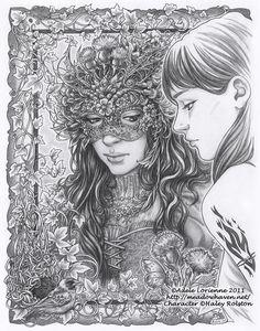 Masquerade Mirrors: Keldera by Saimain