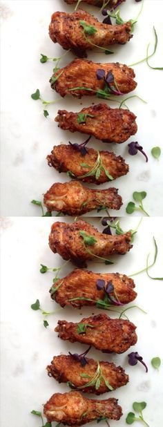 How To Make the Crispiest Chicken Wings ~ Baked |CiaoFlorentina.com