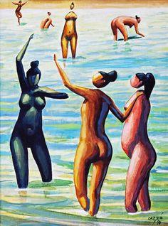 Charles Fonseca: Carybé. Pintura