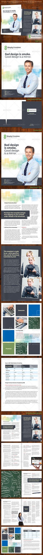 Corporate Brochure / Catalog by Cristal Pioneer on @creativemarket ...