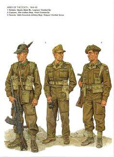 Uniformes de la Segunda Guerra Mundial (Parte 1)