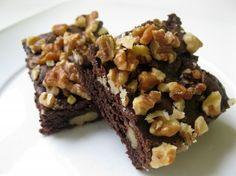 Sugar-Free Vegan Walnut Fudge Brownies | Tasty Kitchen: A Happy Recipe Community!