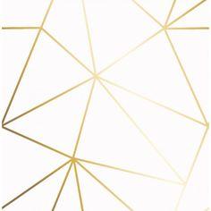 Zara Shimmer Metallic Wallpaper White Gold - Wallpaper from I Love Wallpaper UK White And Gold Wallpaper, White And Gold Decor, Metallic Wallpaper, Geometric Wallpaper, White Gold, Copper Wallpaper, Metallic Gold, Wallpaper Uk, Trendy Wallpaper