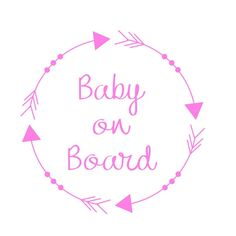 Bebé a bordo signo / de bebé a bordo de coches por Ceremony2Nursery
