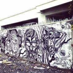 Street arts by #yakindark #ykan