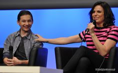 Lana Parrilla et Jared S. Gilmore - Fairy Tales 2 Convention (Once Upon A Time) #OUAT #FT2