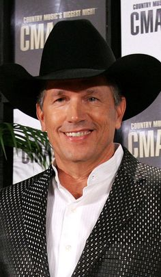 George Strait at the 41st Annual CMA Awards in Tennessee. d75b9eff5c4e