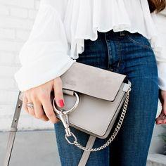 chloe red bag - chloe faye small grey - Google Search | Handbags | Pinterest ...