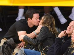 See Mark Wahlberg's Daughter Get Embarrassed by Her Parents' Adorable PDA!| Mark Wahlberg, Rhea Durham