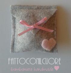 Bomboniera handmade sacchetto confetti