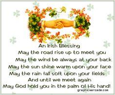 God Bless the Irish!