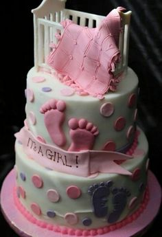 Love this cake, A great shower cake....