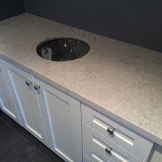 Bianco Drift Kitchen Flooring, Kitchen Backsplash, Kitchen Countertops, Kitchen Cabinets, Kitchen And Kitchenette, New Kitchen, Kitchen Ideas, Ceasar Stone, Kitchen Remodel