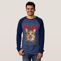 corgi T-Shirt Funny Reindeer Christmas Gift Shirt - Xmas ChristmasEve Christmas Eve Christmas merry xmas family kids gifts holidays Santa