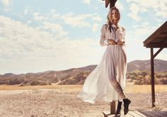 visual optimism; fashion editorials, shows, campaigns & more!: prairie rose: toni garrn by norman jean roy for porter #7 spring 2015