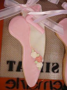 Pink Ballet Cookies