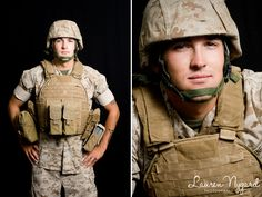 USMC love via a HeartsApart.org photography session. Great organization serving those facing deployment. Photos by Lauren Nygard Photography.