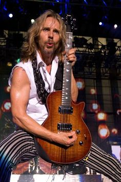 Tommy Shaw ♥ ♥ ♥ ♥ ♥ (STYX); loved him whenever I saw him play with Damn Yankees along with Ted Nugent