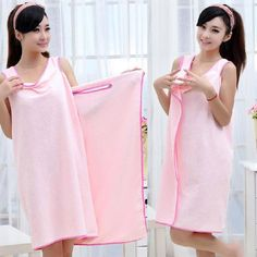 A hundred people high quality Microfiber soft magic towels/bathrobes multifunctional couple bath robe