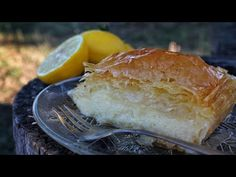 An all-time Greek dessert, Galaktoboureko is a based creamy custard pie baked with flaky phyllo dough and drenched in a delicious syrup sauce! Greek Sweets, Greek Desserts, Greek Recipes, Galaktoboureko Recipe, Greek Pastries, Pastry Design, Phyllo Dough, No Bake Pies, Simple Syrup