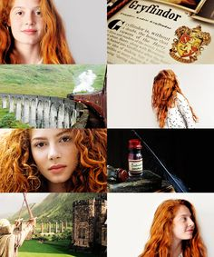 """ Thank God you inherited your mother's brains."" Jenna Thiam as Rose Weasley"