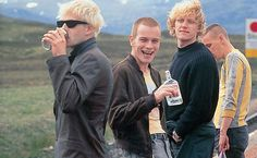 Trainspotting- and young mr McGregor