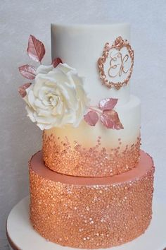 These Cakes Are As Good As Rose Gold Cake Decorating
