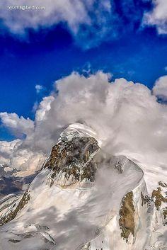 SWITZERLAND, Breithorn Mountain 4.165m, Alps #Zermatt #Alps #Switzerland #Breithorn #mountain