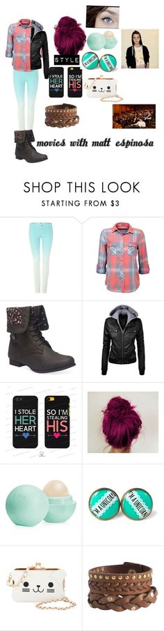 """""""Untitled #105"""" by i-found-wonderland ❤ liked on Polyvore featuring Vero Moda, Wet Seal, Samsung, Eos, KLING and Pieces"""
