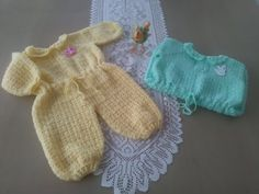 Enteritos en crochet