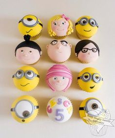 Despicable-Me-Cupcakes-Truly-Madly-Sweetly.jpg (587×700)