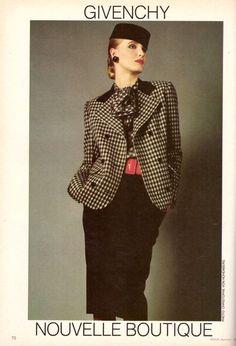 1983 Givenchy Boutique Clothing Fashion Print Advertisement Ad Vintage VTG 80s | eBay