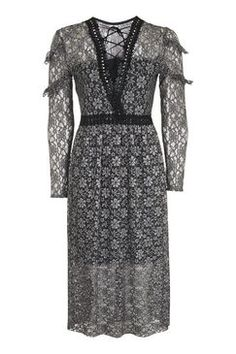 Topshop Lace Midi Dress Found on my new favorite app Dote Shopping #DoteApp #Shopping