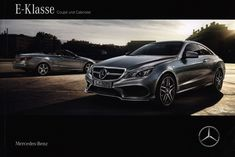 Mercedes-Benz E-Class Coupé und Cabriolet; 2015, car brochure