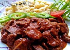 Wedding Mood Board, Pork, Beef, Dishes, Baking, Ethnic Recipes, Diet, Red Peppers, Hungary