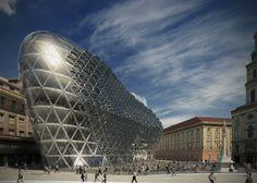 Szervita Square Tower  Zaha Hadid Architects