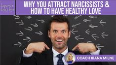 Why You Attract Narcissists and Toxic Partners; How to Have Emotionally Healthy Love w/Coach Riana Milne; show 80 on Lessons in Life & Love Podcast. Toxic Relationships, Healthy Relationships, Love Test, Love W, Relationship Coach, Subconscious Mind, Narcissist, Trauma, Life Lessons