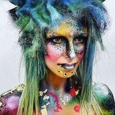 Colour, texture & creativity. @sututorial uses Pure Pigments like a pro  #illamafia