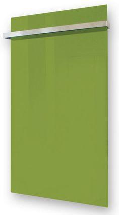 G-OLD Üveg infrapanel zöld törülköző szárítóval és infrafűtés