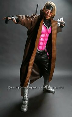 Coolest Gambit and Rogue Couple Costume ...This website is the Pinterest of birthday cakes