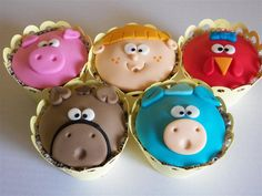 Cupcake Cocoricó