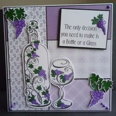 Card made using Honeydoo stamps